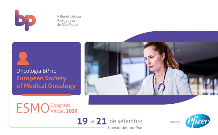 Oncologia BP no European Society of Medical Oncology ESMO Congress Virtual 2020